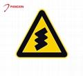 Hot selling road illuminated traffic warning sign 4