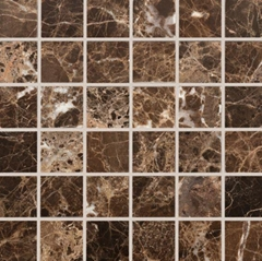 Marble square mosaic tile