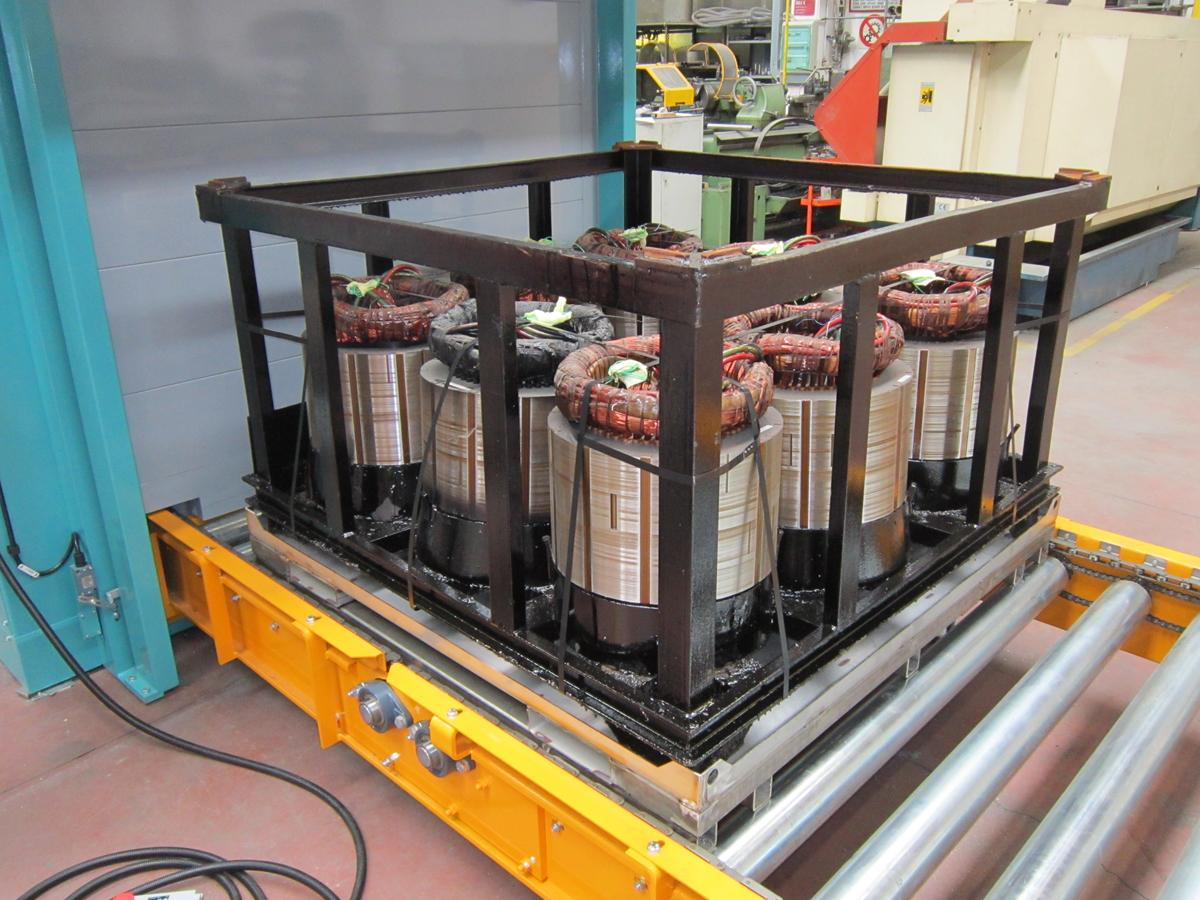 Electric Motors Continuous Ovens - Industrial Ovens for Electric Motors 1