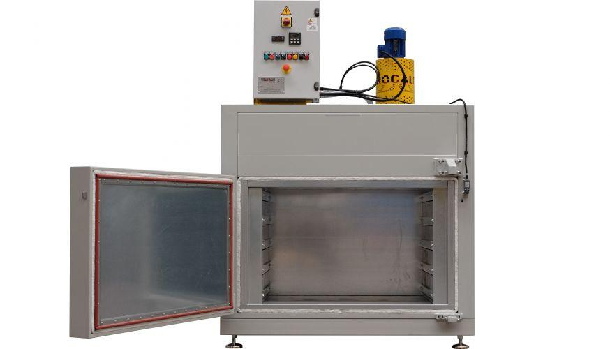 Batch Ovens for Electric Motors - Industrial Batch Ovens by Idrocalor 2