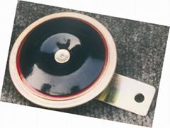 Single disc car horn