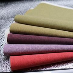 Imitation cloth grain artificial leather