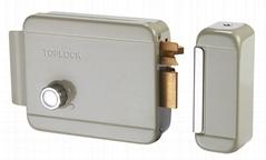 Electric Door Lock 12v DC Rim Lock with Grey Color