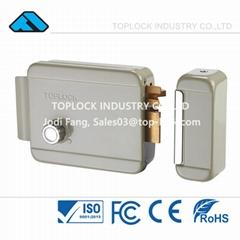 Electric Door Lock 12v Electric Rim Lock with Gray Color