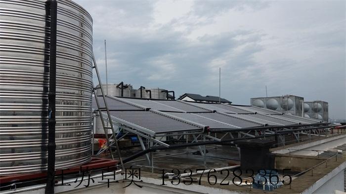 常州金坛万福大酒店太阳能空气能热水系统 3