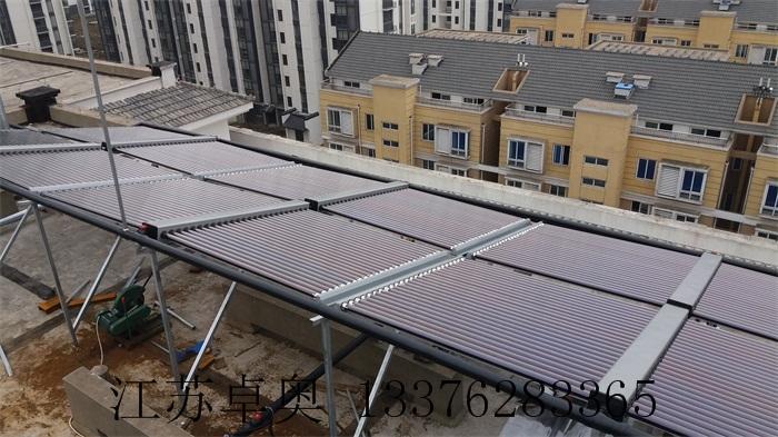 常州金坛万福大酒店太阳能空气能热水系统 4