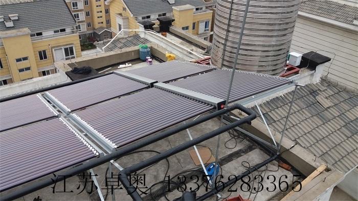 常州金坛万福大酒店太阳能空气能热水系统 5