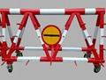 平顶山1.2米高防冲撞交通安全拒马路障 4