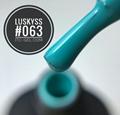 New Design product Beaming Blue Colors soak off 8ml water proof gel nail polish 3