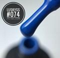 New Design product Beaming Blue Colors soak off 8ml water proof gel nail polish 5