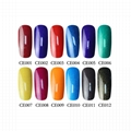 Private label soak off Environmental Uv gel nail polish with free sample 1