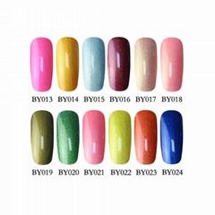 China wholesale nail supplies 36 colors UV gel nail polish soak off nail gel pol