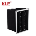high efficiency air conditioning spray booth Activated carbon pocket filter 1