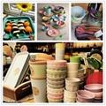 Eco friendly custom design bamboo fiber mug  1