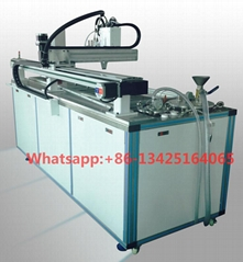 Automatic glue mixing and filling machine