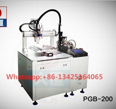 electronic part automatic two part AB epoxy resin glue dispenser machine robot f