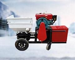 武汉耐科恩自动砂浆喷涂机