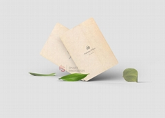 Hot Stamping Sustainability Wooden Hotel Key Card