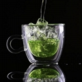 2018 Wholesale Decorative Glass Coffee Cup Mug Double Wall Glass Coffee Cup