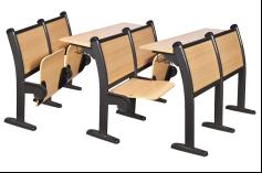 Folding Student Desk Chair School Desk & Folding Chair for University 1