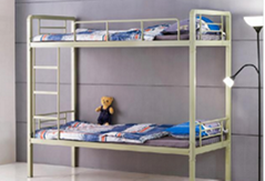 Student Dormitory Furniture Meatl Bunk Bed