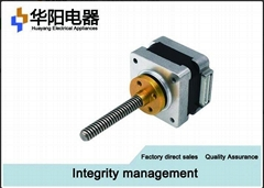 35BYG 35 Linear Stepper Motor , Screw Stepper Motor 12v For Medical Instrument