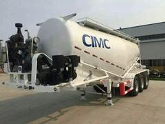 40CBM Cement Tank Trailer 3 Axles Cement Bulker Trailer