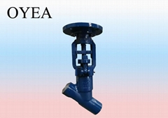 ANSI GB Cast Steel Forged Steel Power Station Globe Valve