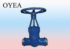 ANSI Cast Steel Forged Steel Stainless Steel Power Station Pressure Gate Valve