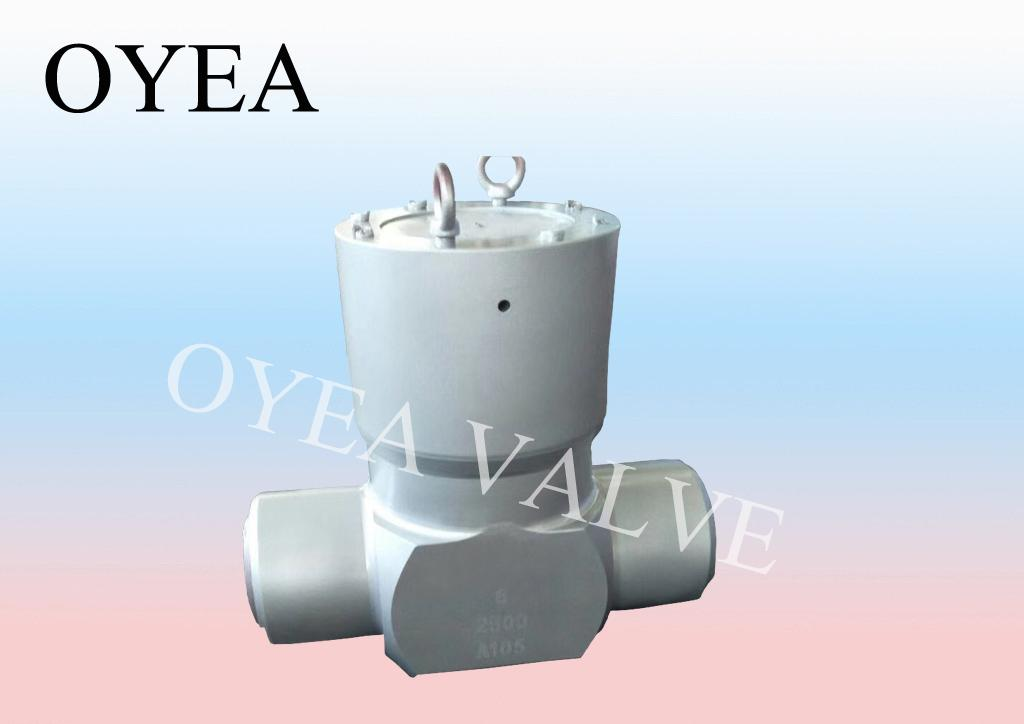 Steel Forged Steel High Temperature High Pressure Power Station Check Valve 1