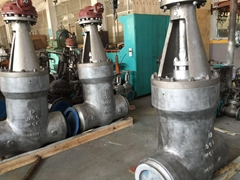ANSI Wcb Forged Steel Stainless Steel Power Station Pressure Electric Gate Valve