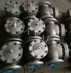 ANSI API Cast Steel Stainless Steel Flanged Weld Swing Check Valve