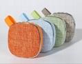 Mini fabrics bluetooth speaker popular among girls