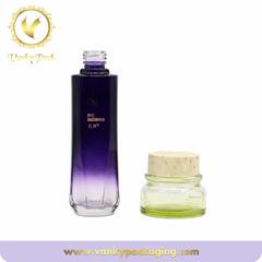 30g 50g Cream Bottle Wholesale Glass Cosmetic Glass Jars Empty Face Cream Emulsi