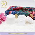 30g Round Shape White Glass Cosmetic Jar