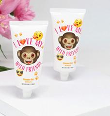 Hot sale carton hand cream cosmetic plastic tubes 60ml