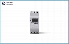 AHC15A 240VAC din rail Daily and weekly programmable Electronic LCD Digital Time