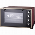 HOPEZ 46L double glass toaster oven electric glass oven 2