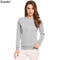 Sweatshirt Women Casual Women Sweatshirts Long Sleeve Solid Fleece Pullovver