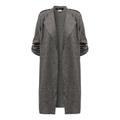 Women Coats Fashion Solid Outerwear Casual Lapel Windbreaker Cape Coats 4
