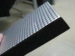 带锡箔铝箔橡塑保温棉价格生产厂家直销