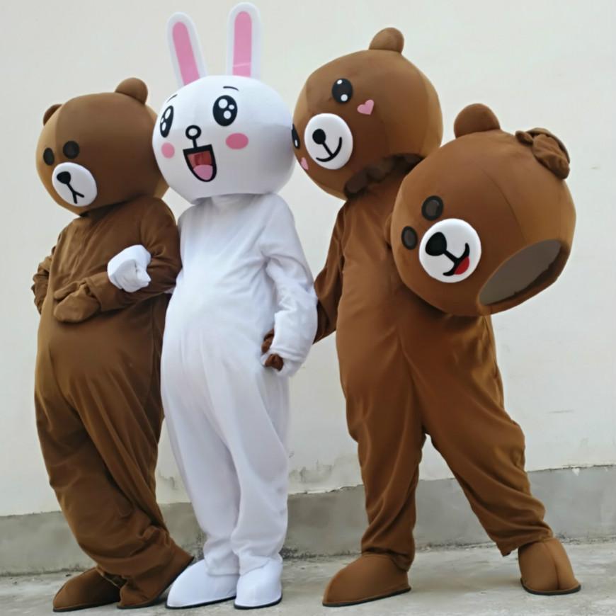 赣州科尼人偶服装网红熊 3