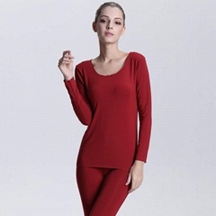Women's bamboo fiber thermal underwear