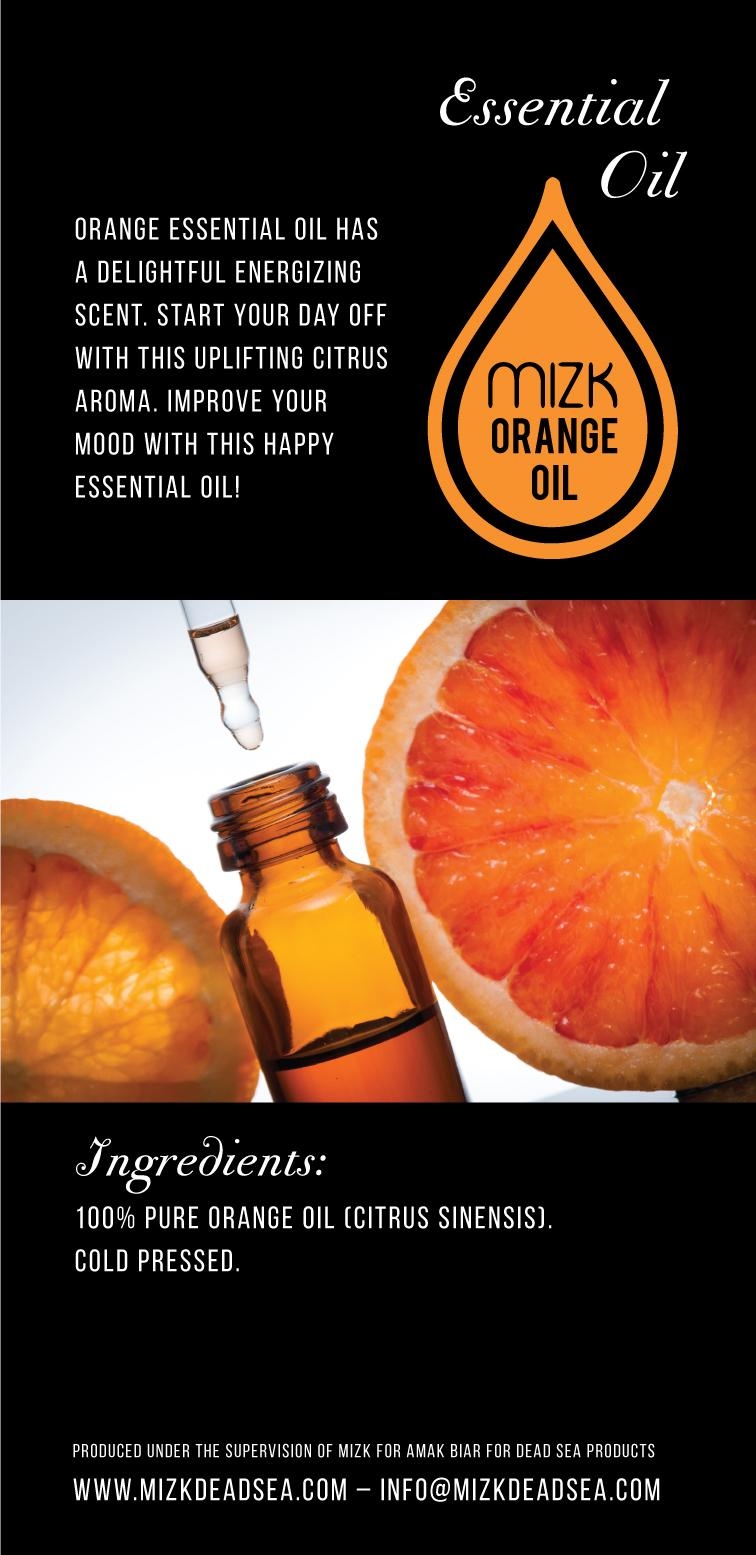 Orange Essential Oil 2