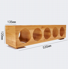 Bamboo Wood Wine Racks
