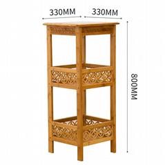Bamboo Antique Racks