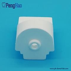 PH-006  Dental Ceramic Quartz Crucible  For India dental  casting machine