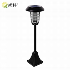 stainless material solar bug zapper mosquito killer lamp