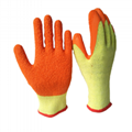 10Gauge Cotton Latex Coated Working Gloves 2