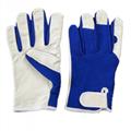 Goatskin Assembly Gloves Garden Gloves 1